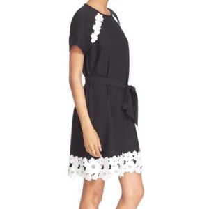 kate spade Dresses - Kate Spade Lace Trim Crepe Dress